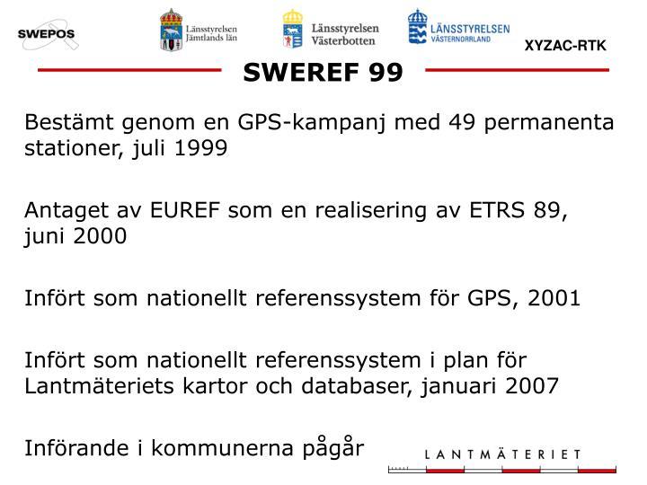 SWEREF 99