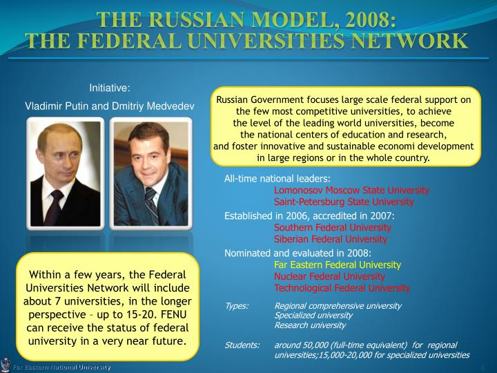 The Russian Model, 2008: