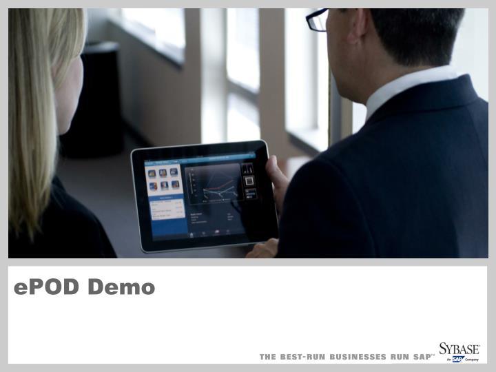 ePOD Demo