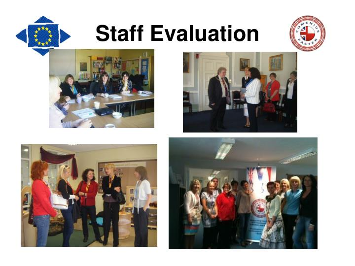 Staff Evaluation