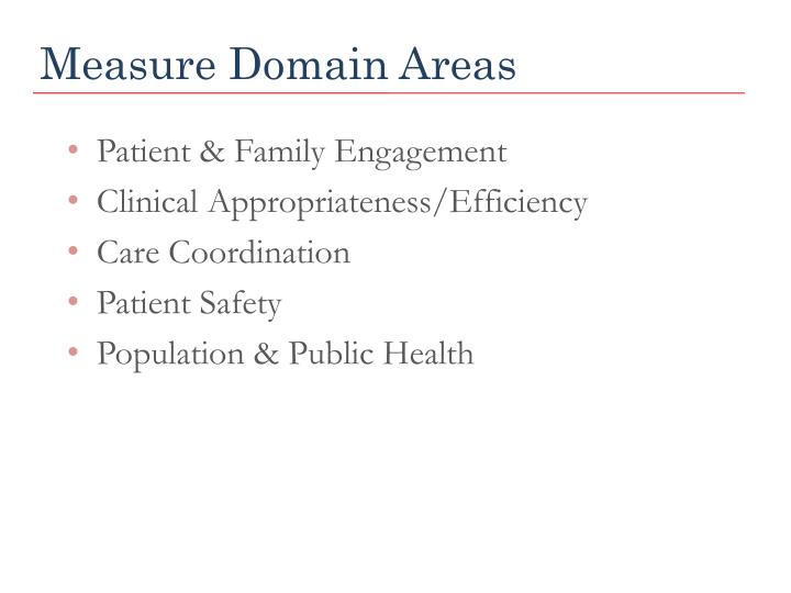 Measure Domain Areas