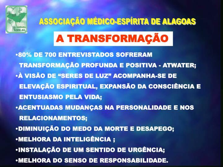 ASSOCIAÇÃO MÉDICO-ESPÍRITA DE ALAGOAS