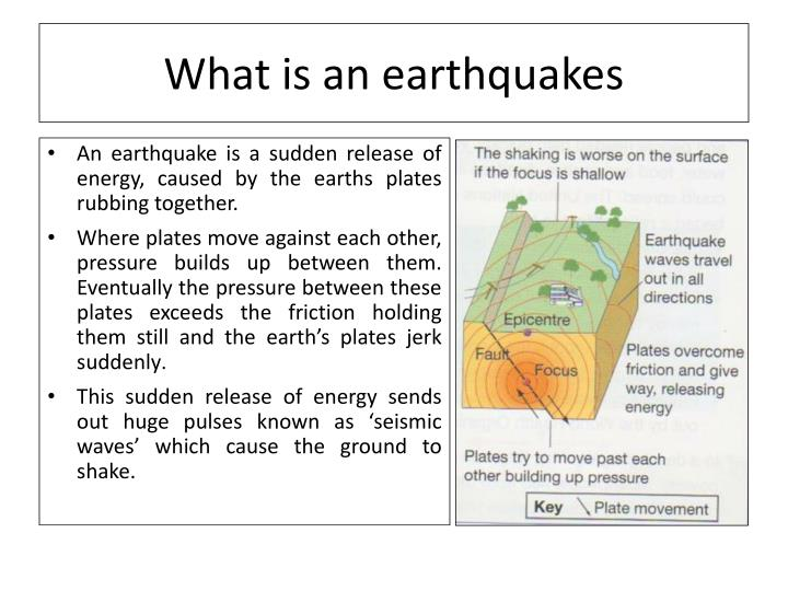 What is an earthquakes