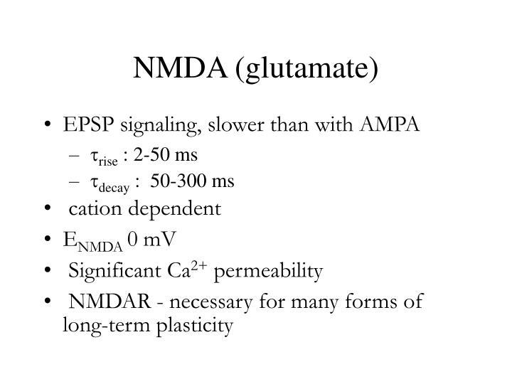 NMDA (glutamate)