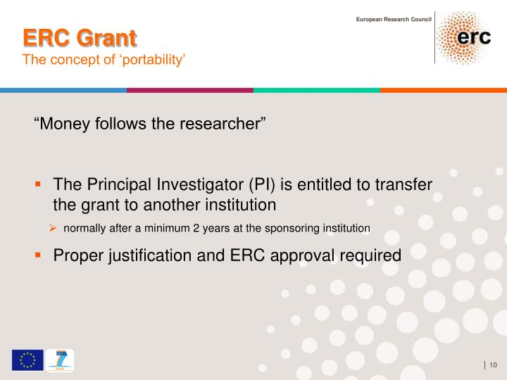 ERC Grant