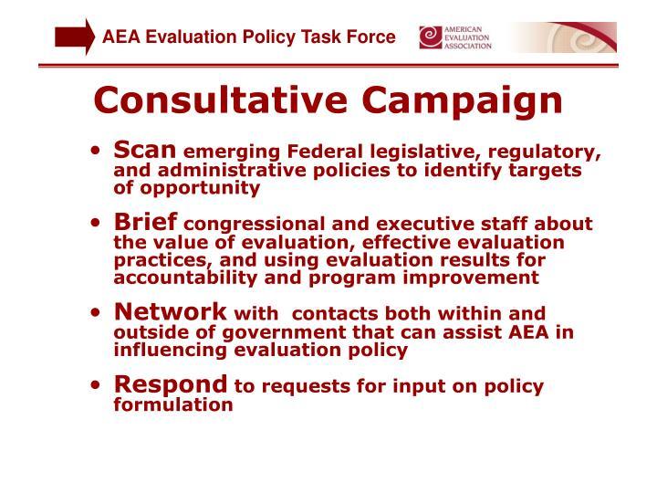 Consultative Campaign