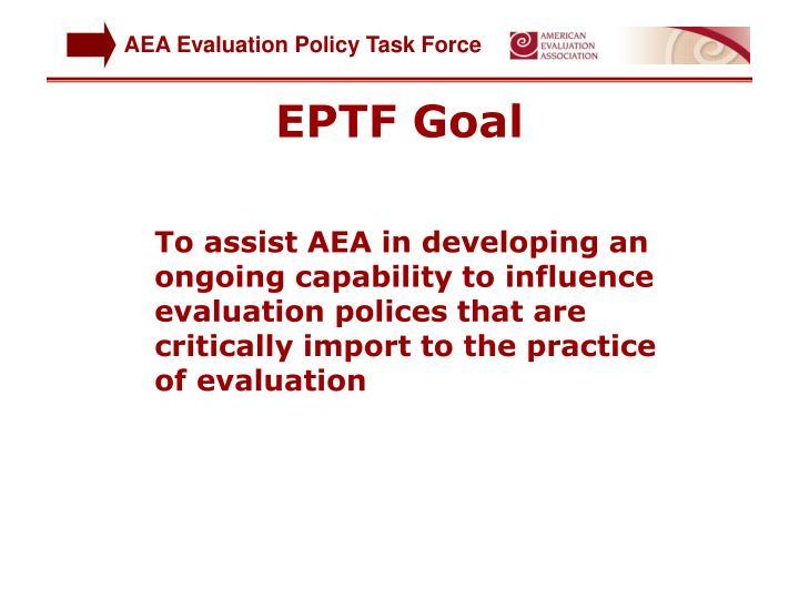 EPTF Goal