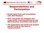 responsibilities and participation