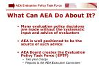 what can aea do about it