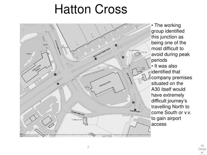 Hatton Cross