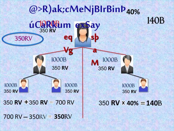 @>R)ak;cMeNjBIrBinCaRkum  exSay