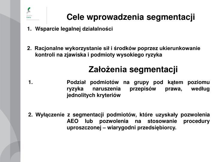 Cele wprowadzenia segmentacji