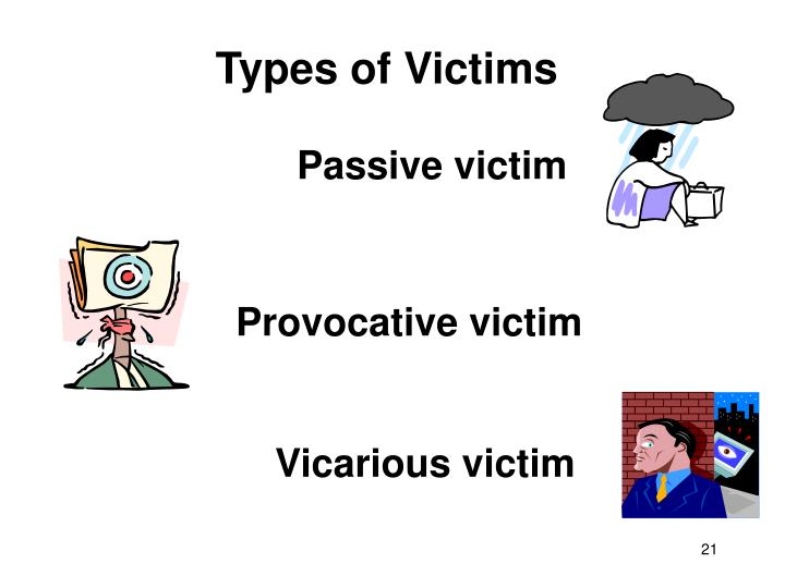 Types of Victims