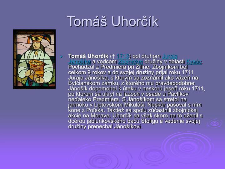 Tomáš Uhorčík