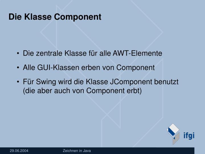 Die Klasse Component