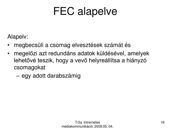 FEC alapelve