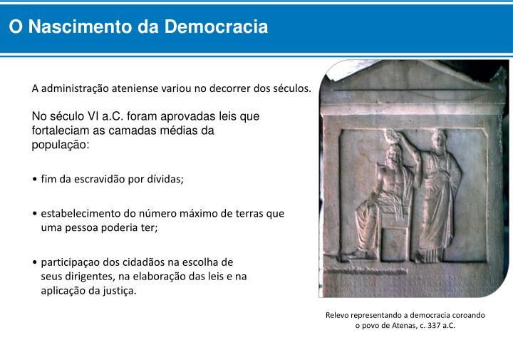 O Nascimento da Democracia