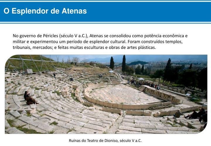 O Esplendor de Atenas