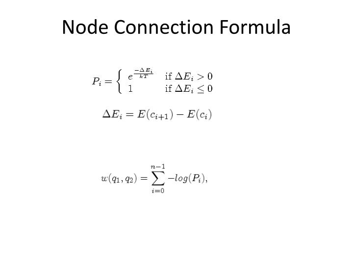 Node Connection Formula