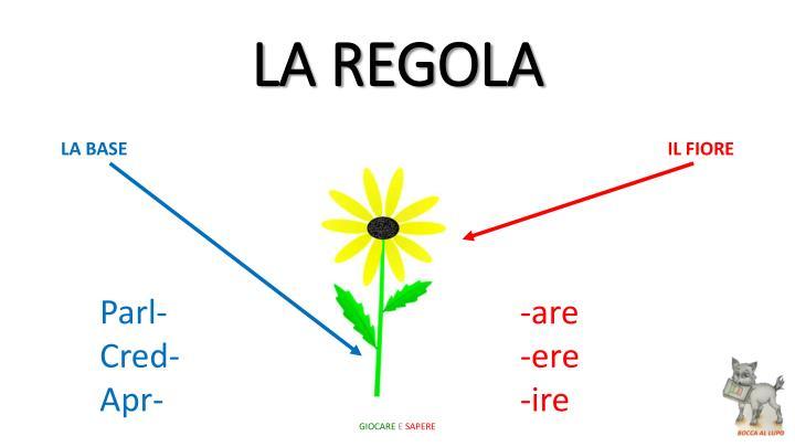 LA REGOLA