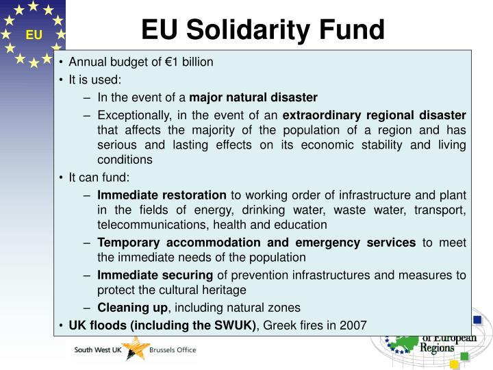 EU Solidarity Fund