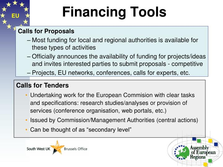 Financing Tools