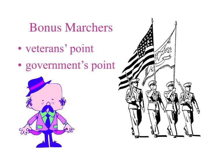 Bonus Marchers