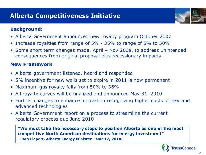Alberta Competitiveness Initiative