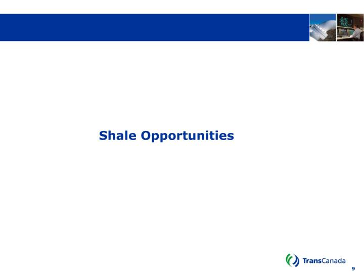 Shale Opportunities