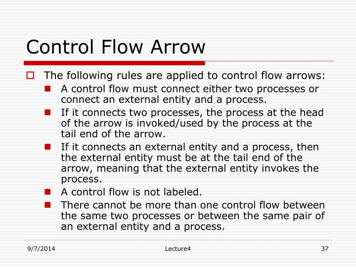 Control Flow Arrow