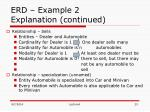 erd example 2 explanation continued