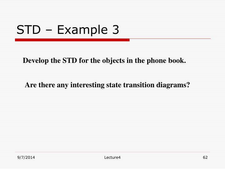 STD – Example 3