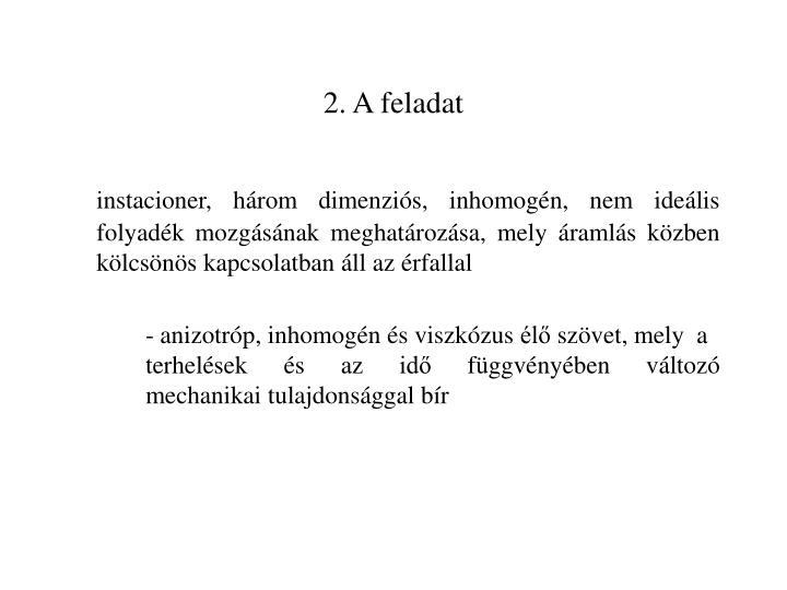 2. A feladat