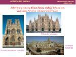 arkitektura gotikoa hirien botere sinbolo bihurtu zen katedrala hiriaren erdigune bihurtu zen