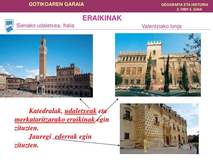 ERAIKINAK