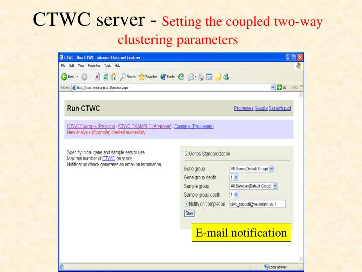 CTWC server -