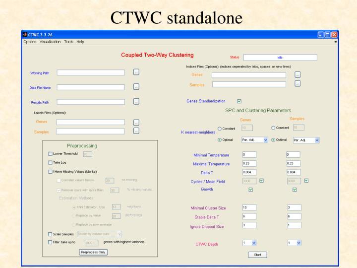 CTWC standalone