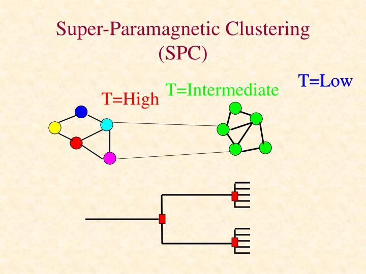 Super-Paramagnetic Clustering (SPC)