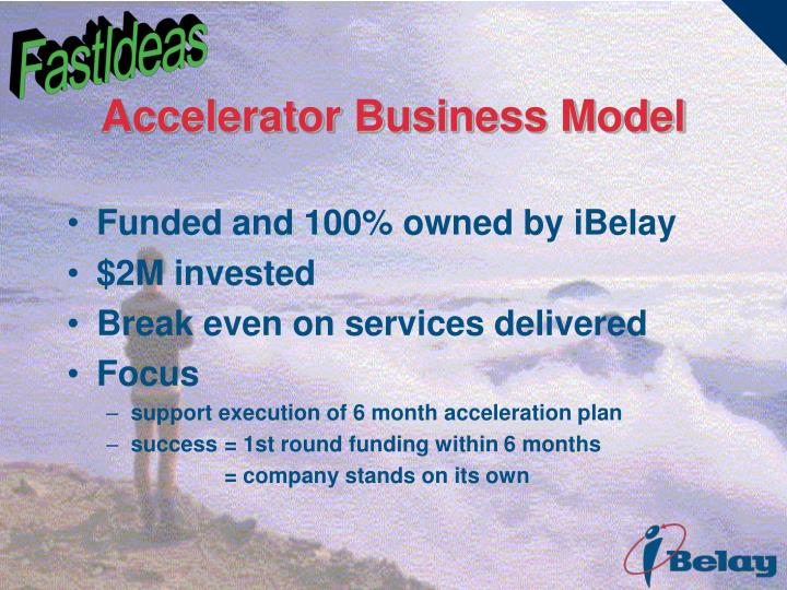 Accelerator Business Model
