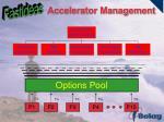 accelerator management