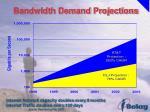 bandwidth demand projections