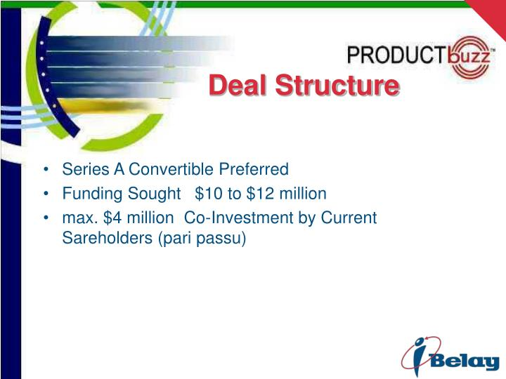 Deal Structure