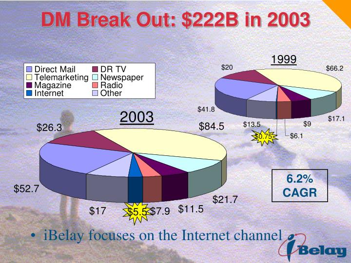 DM Break Out: $222B in 2003