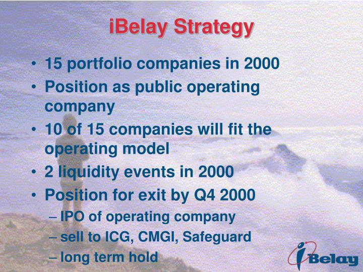 iBelay Strategy