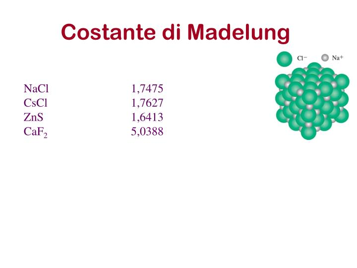 Costante di Madelung