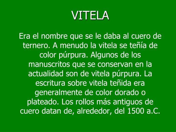 VITELA