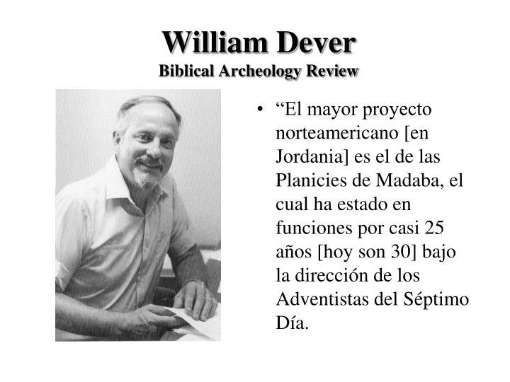 William Dever