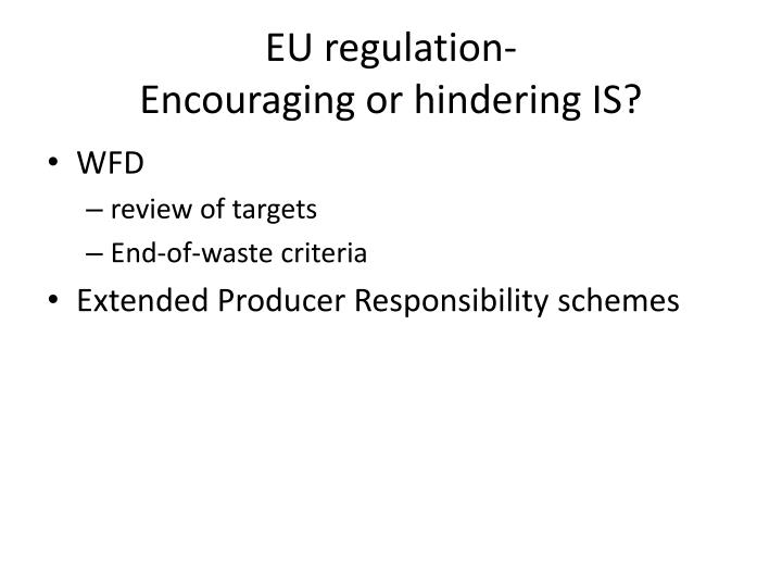 EU regulation-