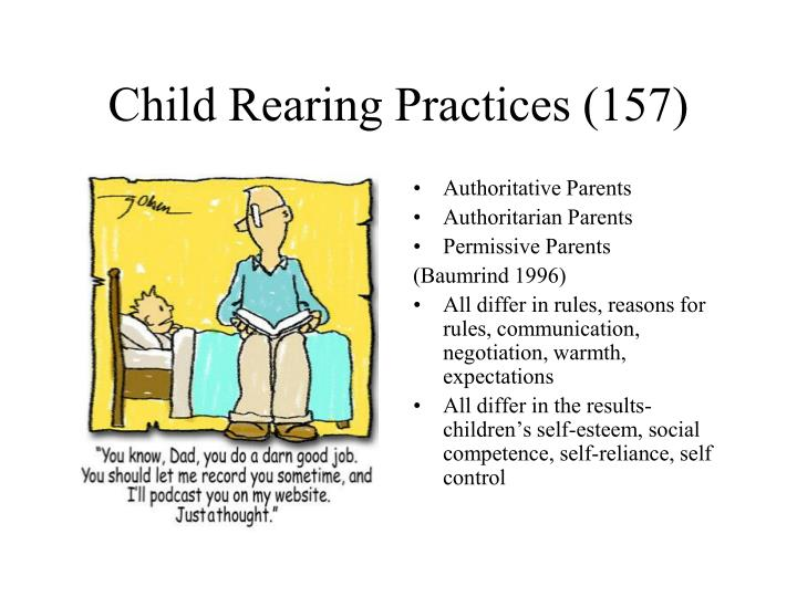 Child Rearing Practices (157)