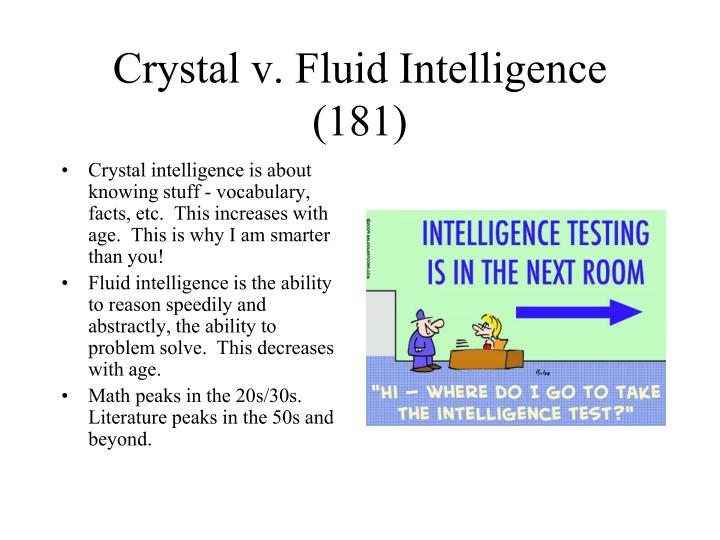 Crystal v. Fluid Intelligence (181)